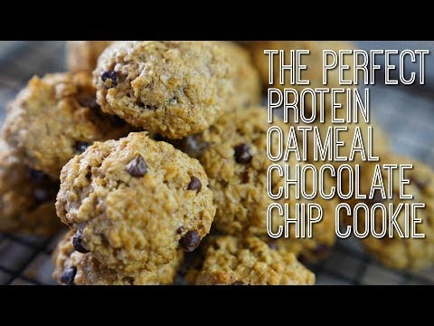 How to Make the PERFECT High-Protein Oatmeal Chocolate Chip Cookies