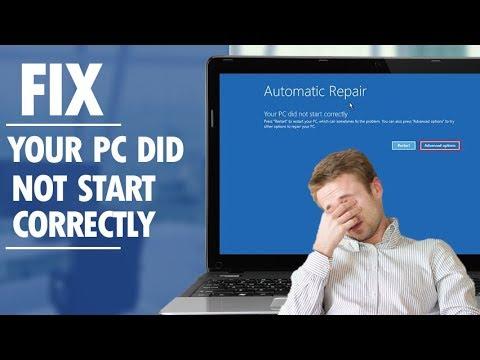 Repair Windows 10 using Automatic Repair (Boot failed)