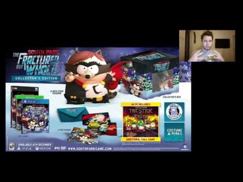 South Park The Fractured but Whole Collector's edition Rant