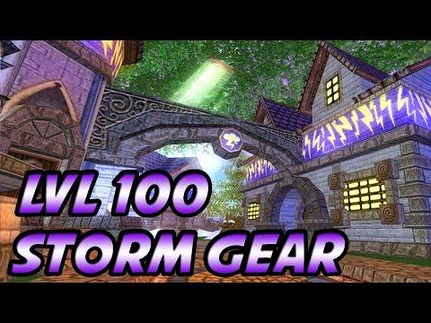 Wizard101: The Best Lvl 100 Storm Gear