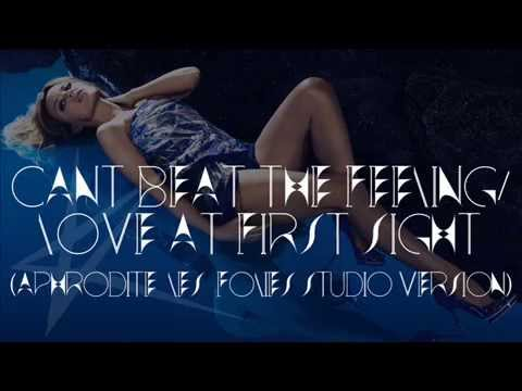 Kylie Minogue - Can't Beat The Feeling/Love At First Sight (Les Folies tour studio version)