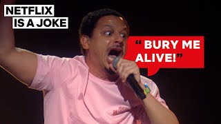 This Is The Highest Eric Andre's Ever Been | Netflix Is A Joke