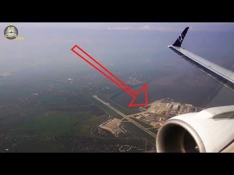 WATCH A380s BEING BORN!! Airbus Factory Hamburg-Finkenwerder from LOT E175 [AirClips]