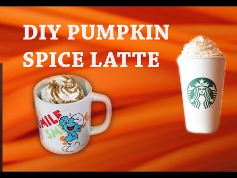 DIY Pumpkin Spice Latte Starbucks
