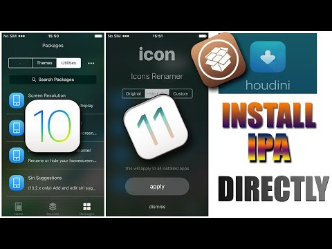Install Houdini Beta 2 Without Pc/Computer (supports ios 10 & 11 - 11.1.2 )