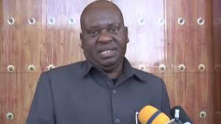 """Spika Akutana Na Kufanya Mazungumzo Na Ujumbe Kutoka Taasisi Ya """"the Elders"""""""