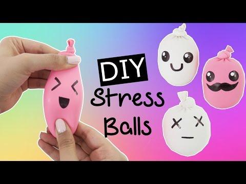DIY Squishy & Cute Stress Ball - Fun & Easy