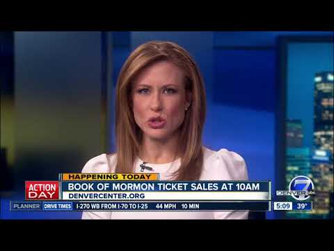 Book of Mormon tickets go on sale in Denver today