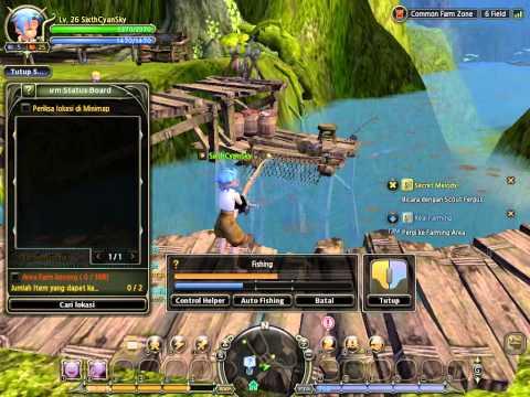 Dragon Nest Tutorial Fishing