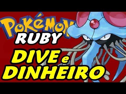 Pokémon Ruby (Nuzlocke Challenge - Parte 20) - HM Dive e Mossdeep