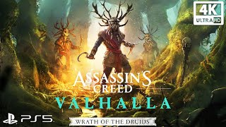 Assassin's Creed Valhalla: WRATH OF THE DRUIDS All Cutscenes (Game Movie) 4K Ultra HD