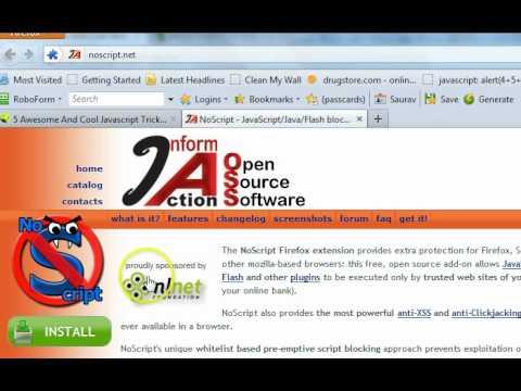 How to Run JavaScript in Firefox, Google Chrome and Internet Explorer