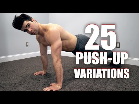 Get Swole Anywhere - 25 Different Ways to Push-Up