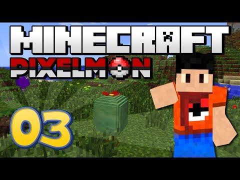 Minecraft : Pixelmon - Episode 3 | Apricorn-mas!