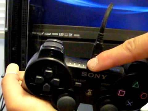 PS3 How to Sync Your Controller