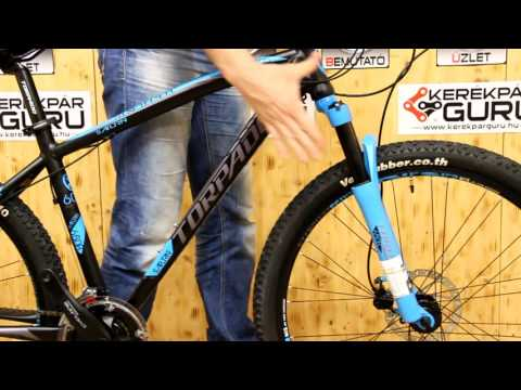 Torpado Saturn 650B mtb kerékpár bemutató