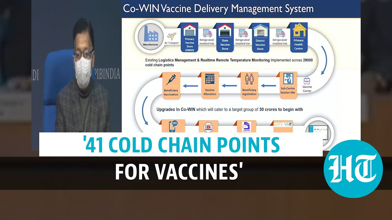Covid-19: Health Secretary explains how vaccination process in India works