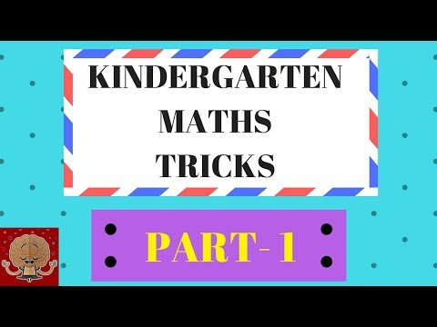 KINDERGARTEN / GRADE 1 MATHS TRICKS   KINDERGARTEN MATHS ADDITION   MATHEMATICAL MIND TRICKS