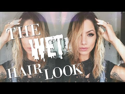 HOW TO GET THE WET HAIR LOOK