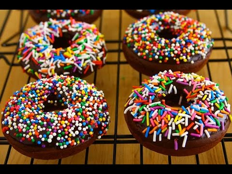 Baked Chocolate Donut Recipe (Egg-Free)
