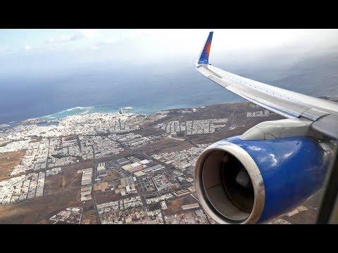 (4K) Jet2.com Boeing 757-200 | Lanzarote to Manchester | Flight Video - LS892