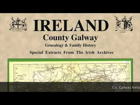 French Huguenots in Ireland; Vignoles family name; Galway names map; Graham to Grimes IF78