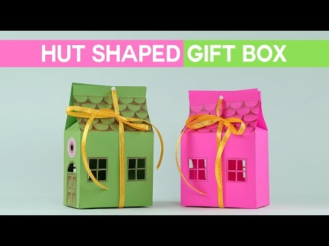 DIY Small Paper Gift Box Idea - Creative Chocolate Packaging