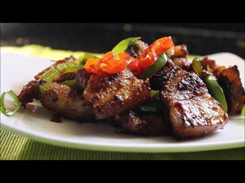 Spicy Pan Fried Pork Belly/Chilli Pork