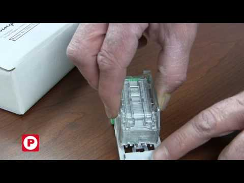 How to Install a Swingline Staple Cartridge (Ricoh 415010) into Type T Assembly