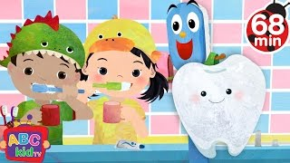 Brush Your Teeth (2D) | +More Nursery Rhymes & Kids Songs - CoCoMelon