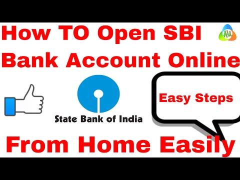 open sbi bank account online l open sbi account online in hindi l online sbi application l banking