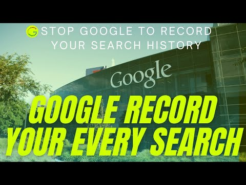 How To Stop Google To Record Search History Of My Google Searches  New 2017 Youtube