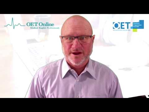 OET Online: How to write a Medical Referral Letter