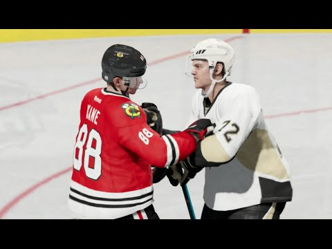 NHL 15 (Xbox One): Penguins vs Blackhawks Stanley Cup Finals (New Playoff Mode)