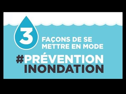 3 façons de se mettre en mode prévention inondation