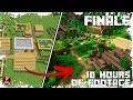 Let's Transform a JUNGLE Village! - FINALE - (WORLD DOWNLOAD)