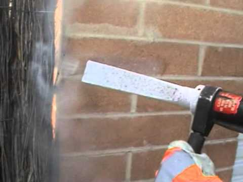 Dry Ice Cleaning - Removing 30yr old Mortar from Brick Work