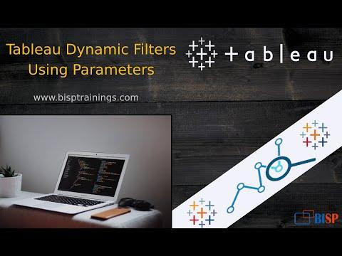 Tableau Dynamic Filters Using Parameters | Tableau Parameters