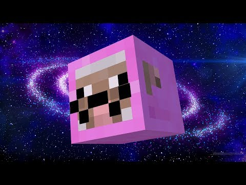PINK SHEEP GOES TO OUTER SPACE | Minecraft
