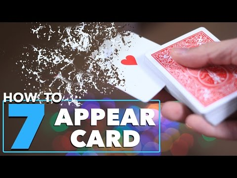 7 Magic Tricks to Make Cards Appear in Your Hands Tutorial