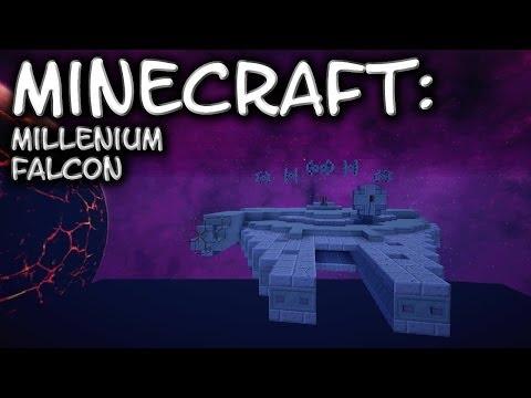 Minecraft: Star Wars: Millennium Falcon Tutorial