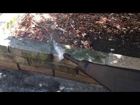Pressure Washing Brick and Concrete