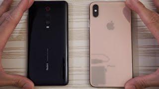 Redmi K20 Pro vs iPhone XS Max - Speed Test!