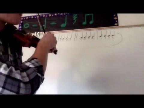 Violin 1a (Quarter Notes) On E String