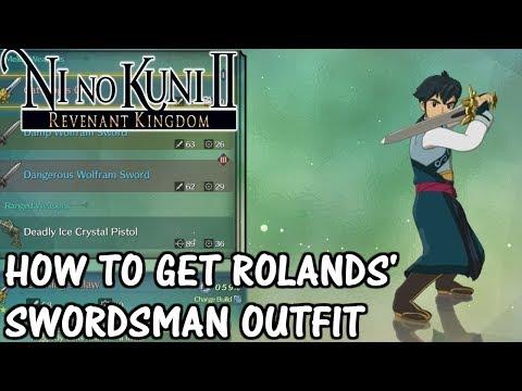 Ni No Kuni 2 - How to get Rolands' Swordsman Outfit