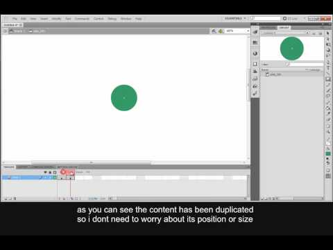 Flash Cs5: How to create a basic button symbol