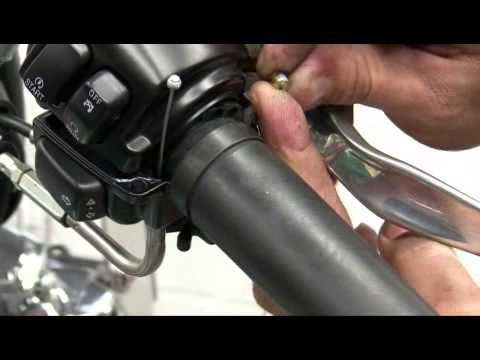 How to Replace Motorcycle Handlebar Grips