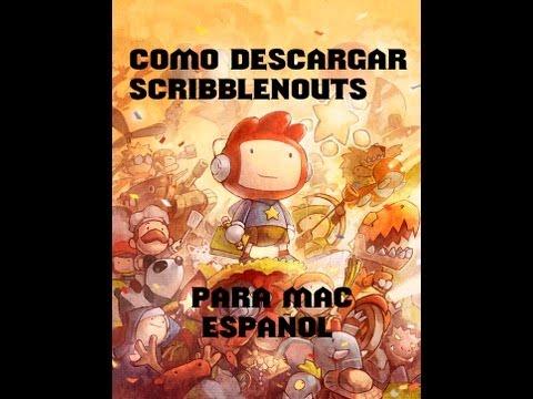 Como descargar Scribblenauts Unlimited | Para Mac | Español.