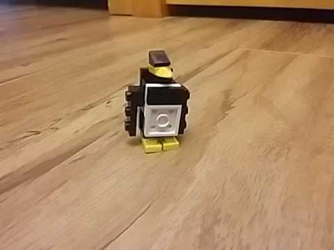 How to build a custom Lego Penguin