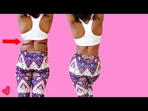 BEST 10 MIN BACK FAT & BUTT WORKOUT || Get Rid of Back Fat & Grow Booty - Workout for Women
